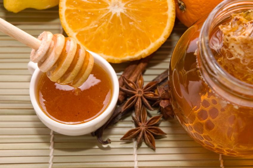 fresh honey, natural sweeteners