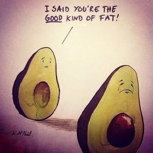 healthy fat avocados