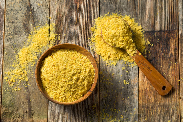 plant based protein - nutritional yeast